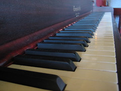 Piano at The Red Shoe Pub