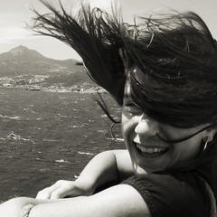 (Raoule {}) Tags: ferry hair vent wind corse corsica teen bateau ado adle cheveux