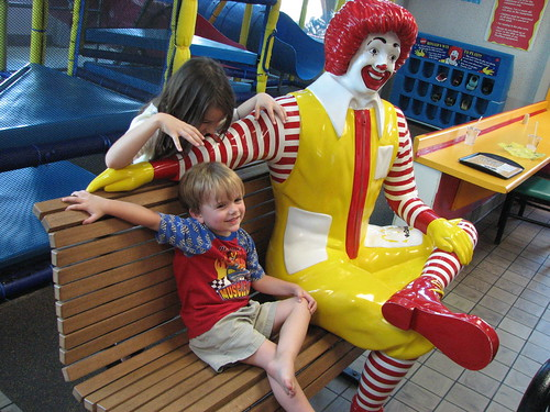 Chillin' with Ronald McDonald