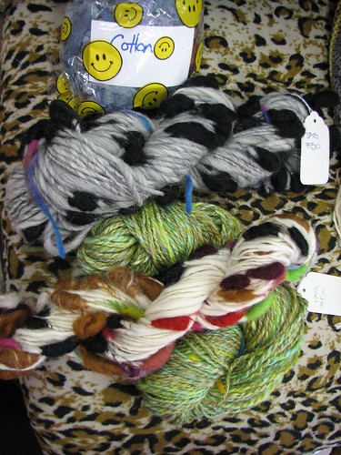 the teachers yarn with cocoons