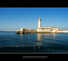 Marsala - Leaving the lighthouse