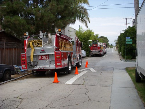 Venice LAFD Fire Department on Venice Canals