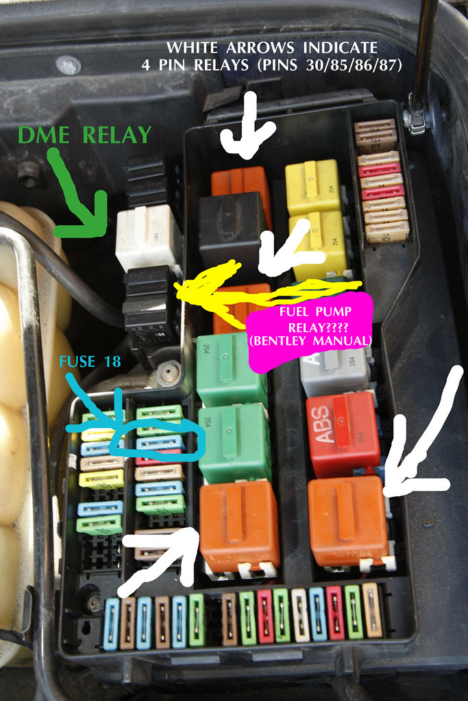 3848311709_69d38630dc_b 1994 e36 m3 fuel pump relay issues bmw e36 fuse box relay layout at gsmx.co