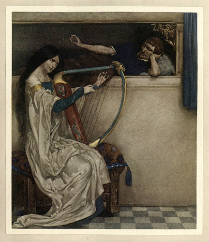 013 -Le morte Darthur 1921- William Russell Flint