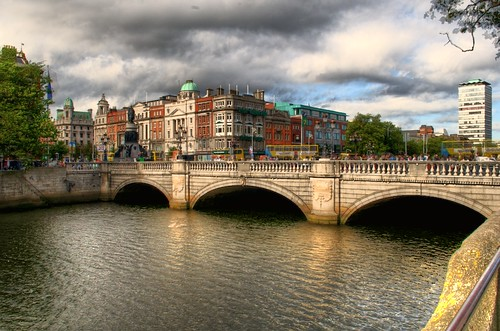 O' Connell Bridge, Dublin, Ireland