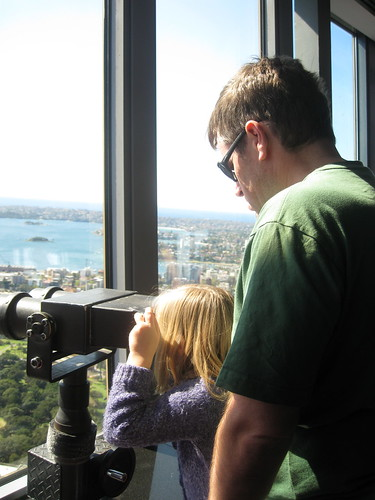 Looking from Sydney Tower