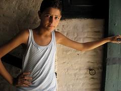 Tunisian Boy, Kairouan (Victoria Carpenter) Tags: portrait roman northafrica tunisia coliseum kairouan magreb