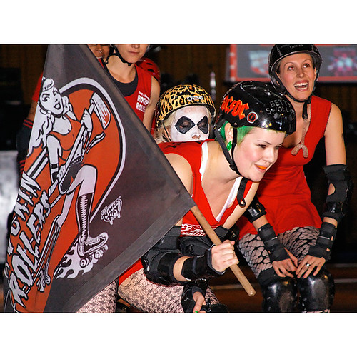 Brawls of Fire, London Rockin Rollers v Stuttgart Valley Rollergirls