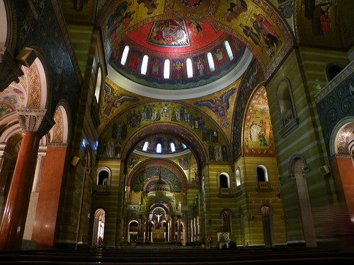 The Cathedral Basilica of Saint Louis , Missouri