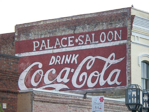 Coca-Cola Reproduction Sign