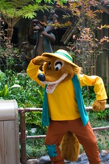 Disneyland Aug 2009 - Meeting Brer Fox