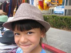 Sara rockin the hat