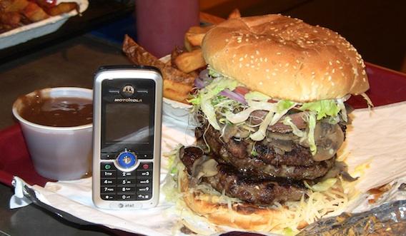Splitz Grill Triple Beef Burger