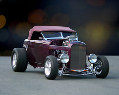 Rag Top Custom (bindare2) Tags: art photoshop automobile american hotrod custom photoart cruiser topaz coolcars carart raodster topazadjust