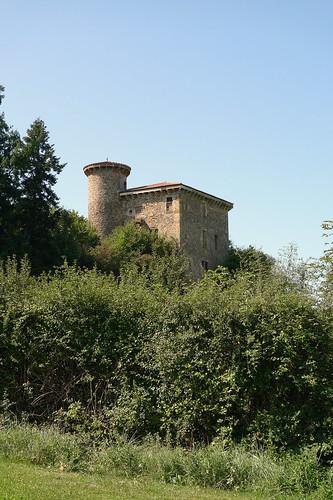 Le Manoir de Bélime, près de Courpière (Puy-de-Dome, France) par Denis Trente-Huittessan