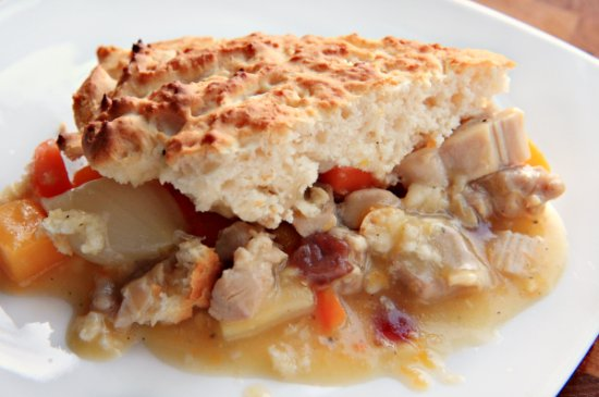 Autumn Chicken Pot Pie header