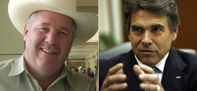 Hank Gilbert vs Rick Perry