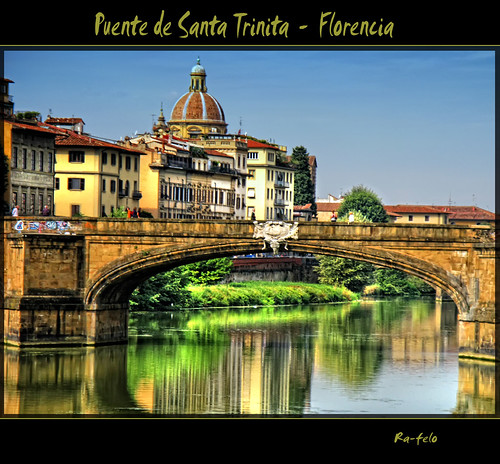 (0086) Puente de Santa Trinita - Florencia by Ra-Felo.