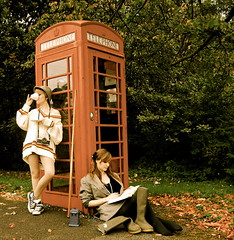 110/365 It's fine darling, we're British. (Katie Lionheart) Tags: uk england unitedkingdom britain doctorwho wellingtonboots tardis teacup telephonebox tweedhat tweedjacket snookercue cricketjumper homersiliad homersbeautyofwoman itsfinedarlingwerebritish