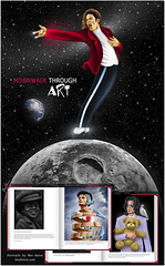 Moonwalk Through Art - Michael Jackson Tribute Book (Ben Heine) Tags: charity mus