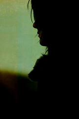 jade (*k a t i e*) Tags: portrait woman art girl beautiful face silhouette hair nose blackwhite canoneos400ddigital kp73 katiepetef jadewright