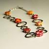Warm Tones 'bubble' Necklace