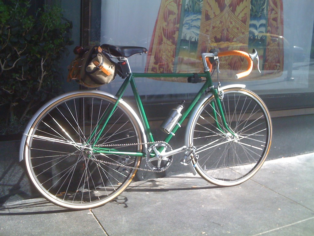 New Bike Day: The Green Monster: 197x Tanguy