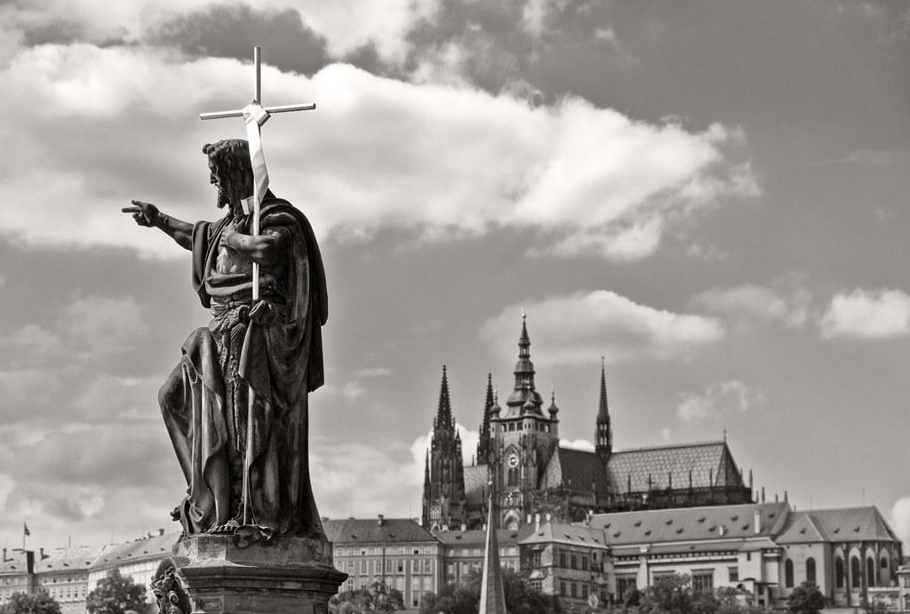 Statue St-Jean-Baptiste