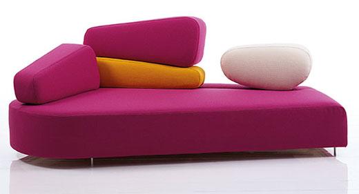 Ultra modern sofa design for contemporary living room :: classic home