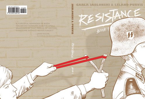 Wrap Around Cover for RESISTANCE, Book 1