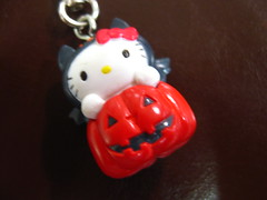 Hello Kitty Halloween Charm