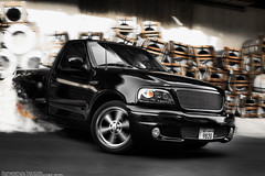 SVT Drifting (Talal Al-Mtn) Tags: street black ford colors sign truck canon fire eos rebel inch automobile cobra power snake d top cam smoke gear tire automotive automatic shelby headlight kuwait manual burnout mustang 20 rims kn exhaust drift gril intake supercharged xsi svt saleen q8 500hp stang slp backfire flowmaster kwt hourse borla fordracing supercharge hoursepower xti 450d canon450d lm10 inkuwait fordlighting talalalmtn  bytalalalmtn systemexhaust bytalal
