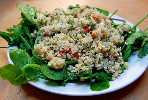 Tabbouleh-style quinoa