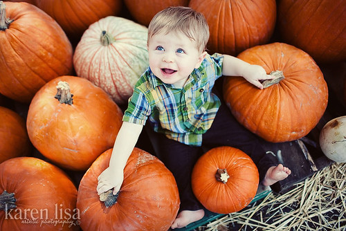 Z at the Pumpkin Patch