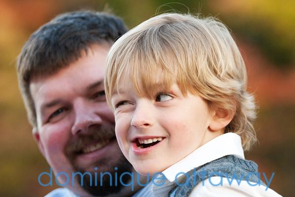 little boy winking charlottesville family photographer