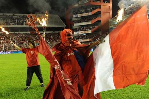 Inaguracion del Estadio Independiente