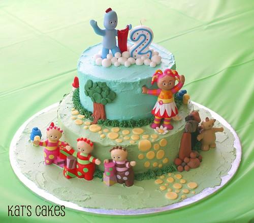 Kat\'s Cakes: In the Night Garden Cake