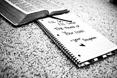 I'll Go I'll Show (amanda.m.) Tags: white black love power god note bible
