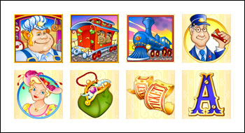 free Loose Caboose slot game symbols
