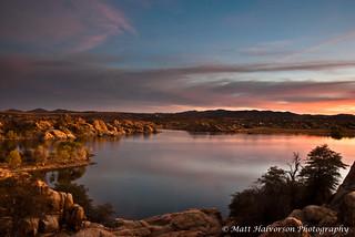 Sunset on Willow Lake