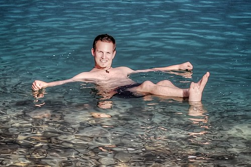 Me in the Dead Sea
