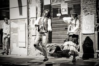 Les danseurs de flamenco