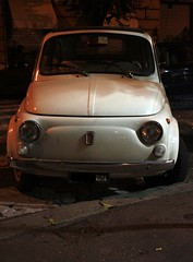 500 (marfis75) Tags: auto city italien italy white rome roma car ancient italia fiat roman cc stadt 500 weiss rom fiat500 cinquecento rmisch antik kleinwagen weis marfis75 marfis75onflickr