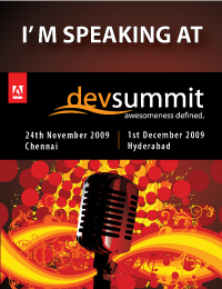 I am speaking at Adobe DevSummit