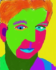 Another Day, Another Saturated Drawing: 2009.11.10 (Julia L. Kay) Tags: sanfrancisco portrait selfportrait art face digital self sketch san francisco artist julia drawing kunst autoretrato kay portraiture iphone iart isketch idraw ipodtouch iphoneart juliakay julialkay unrealisticcolor