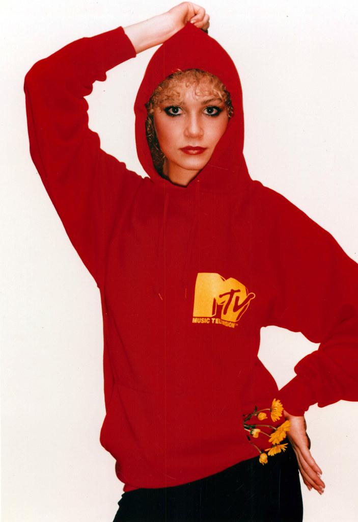 MTV swag: hoodie sweatshirt