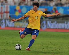 Brazil Vs England (Ashraf Khunduqji) Tags: brazil england sport football nikon fifa 300mm kaka 2009 d3 doha qatar ashraf khunduqji