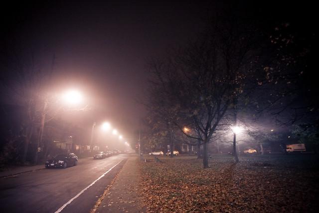 Toronto in the fog