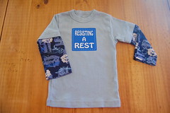 """RESISTING A REST"" 18-24 months"
