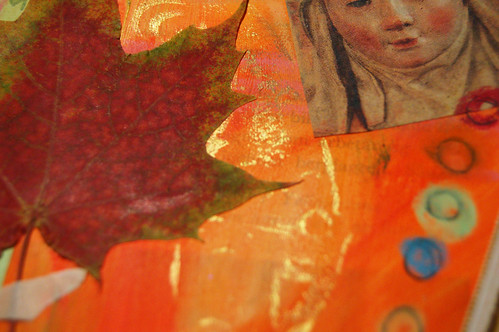 Detail: Autumn leaf colors (Copyright Hanna Andersson)